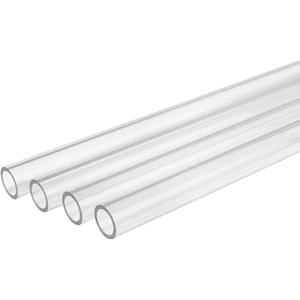 Hard-Tube Computer Clear Od 500mm-Length 4-Pack Chamfer Petg Id Transparent 16mm Water-Cooled