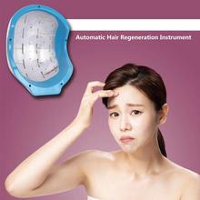 Анти-выпадение волос способствует росту волос колпачок шлем устройство для волос автоматическое Индукционное массажное оборудование для большинства случаев выпадения волос