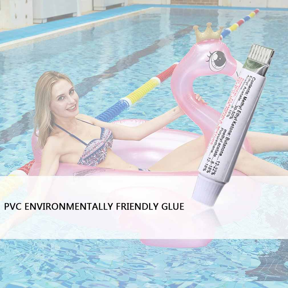 PVC yapıştırıcı tamir alet takımı şişirme ürünleri yüzme simidi hava yatağı tekneler şişme onarım tutkalı tüp yama kiti satış