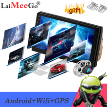 2din Car Multimedia Player 7″ Android Car stereo Radio GPS WIFi Autoradio Bluetooth Mirrorlink Tape recorder Car Monitor camera