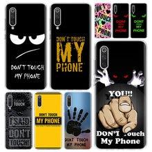 Capa para celular xiaomi redmi note 9s 8t 8a 7, não toque 7a 6 6a 5 10 k20 s2 k30 pro mi cc9 8 9 5x 6x lite
