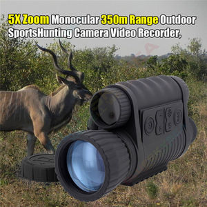 Image 3 - LS 650 6X50 720P 350M Range Infrared Night Vision Sight Goggle Monocular Video Photo Recorder DVR for Outsport Hunting Camera