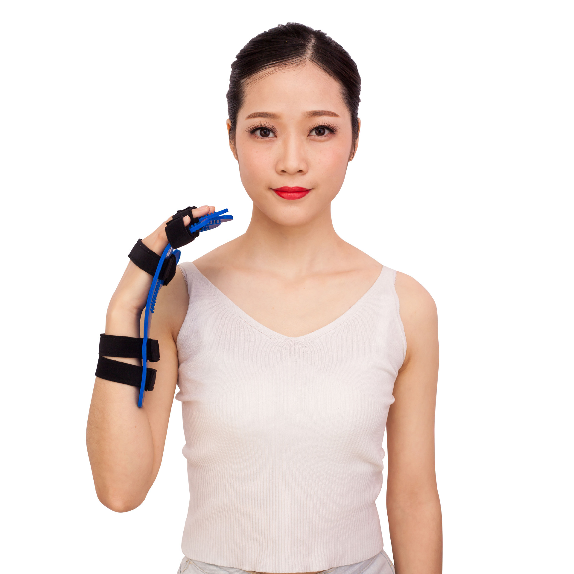 Finger Hand Rehabilitation Training Device Material Apoplexy Hemiplegia Training Device Hand Wrist Fixed Finger Board Fen Zhi Qi