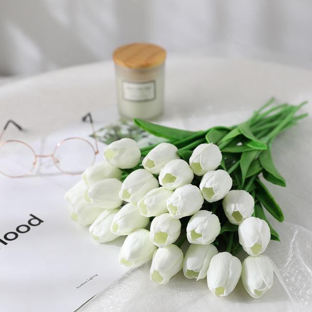 Tulip's Bouquet for Decoration Set 31 Pcs