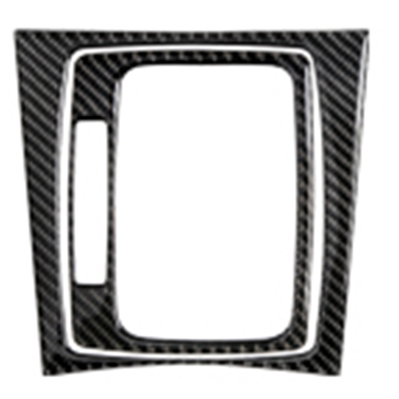 Car Interior Decoration Moulding Carbon Fiber Central Control Panel Decal Stickers for Mercedes W204 C Class 07-13 Accessories