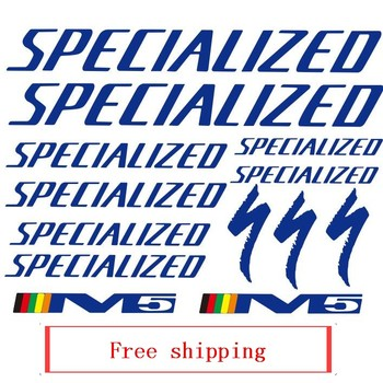 Bike frame stickers Specialed cycling sticker Free shipping mtb bicycle decal vinyl waterproof paint protection bike accessories image