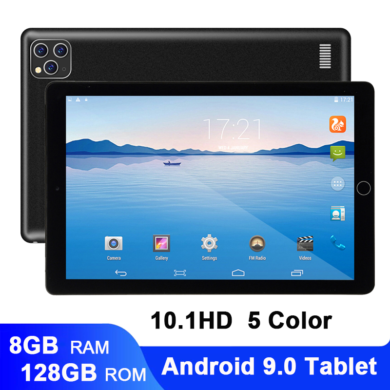 Newest 10 Inch Tablet Android 9.0 Dual SIM Dual Camera Tablette 8GB 128GB Wifi Bluetooth Android Tablets PC With GPS Phone Call