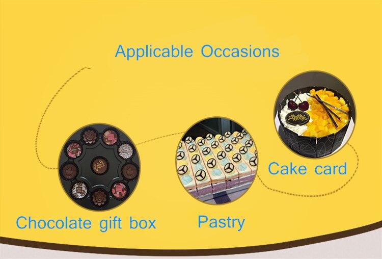 decoração a4 tamanho ferramenta cozimento diy bolo