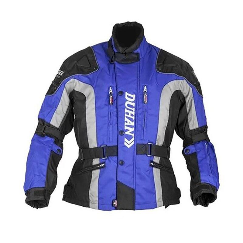 Veste de Moto Moto D023 vestes d'équitation coupe vent Moto corps complet équipement de protection armure CE hiver Moto vêtements - 2