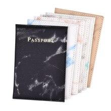 PU + кожа + паспорт + обложка + путешествия + документ + винтаж + мрамор + держатель + сумка + женщины + мужчины + портативный + банк + карта + паспорт + бизнес + кошелек + чехол