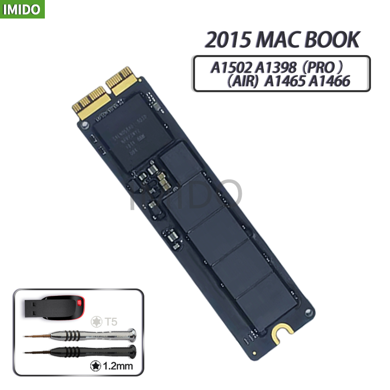 Original 128GB 256GB 512GB 1T SSD For Macbook Air 2015 A1465 A1466 Imac PRO  2015  A1502 A1398 Mini SOLID STATE DISK