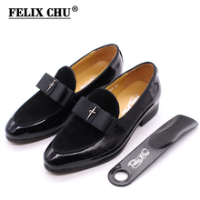 4-12 Years Children's Dress Shoes Patent Leather Suede Kids Loafer Flat Slip On