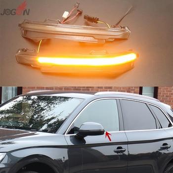 For Audi Q7 4M 2016-2018 Car Dynamic Turn Signal LED Side Mirror Indicator Blinker Lights