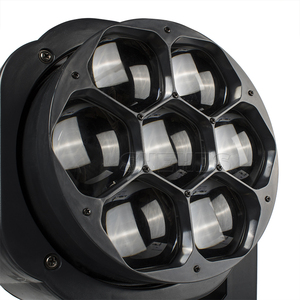 Image 5 - New Big Bee Eye 7x15W LED moving head zoom function DMX 512 Wash Lights RGBW 4IN1  Beam effect light party/bar/DJ/stage Lighting