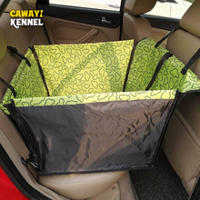 CANDY KENNEL PVC Waterproof Small Pet Dog Cat Car Seat Cover Mat Blanket Rear Back Protection Hammock D0041
