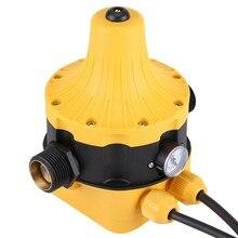 Автоматический водный насос переключатель давления Электрический водяной насос регулятор давления с манометром для воды