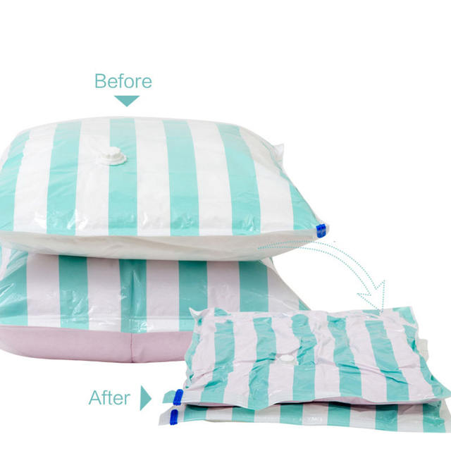 Vacuum Storage Bags for Clothes Blankets Pillows Extra Strong Vacuum Packaging