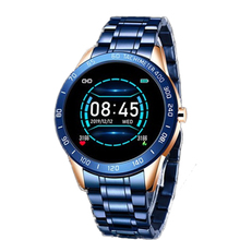 LIGE Sport Smart Watch Men Blue Waterproof Bracele