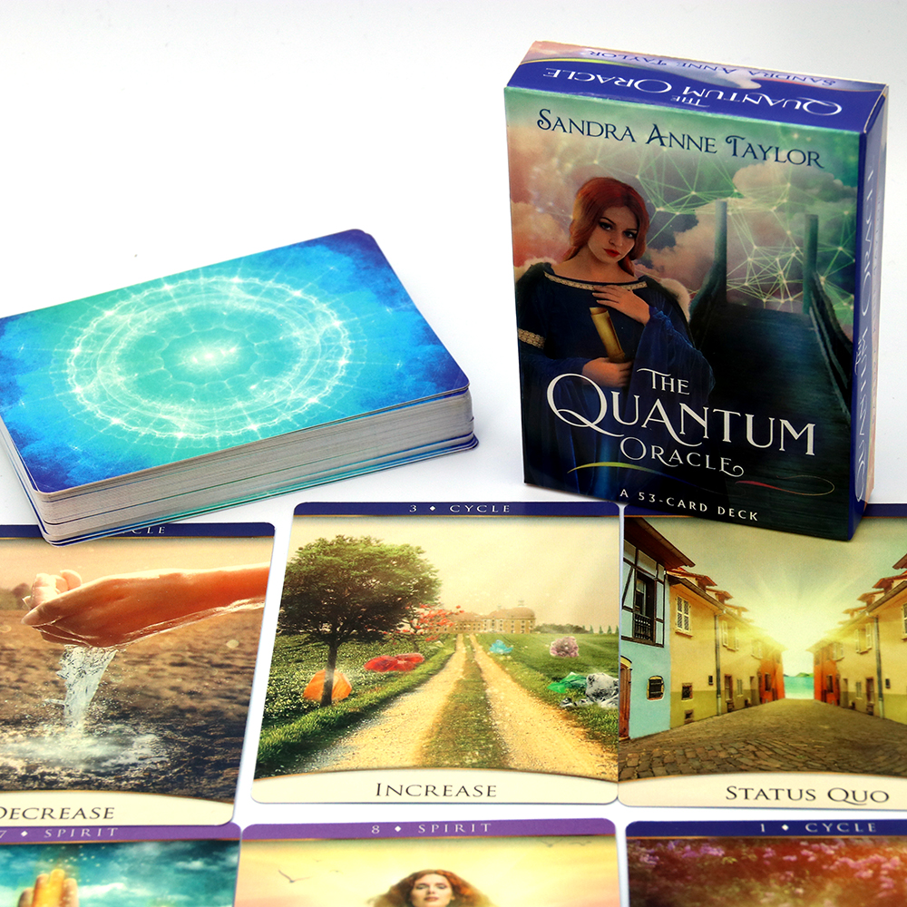 The Quantum Oracle: A 53-Card Deck And Guidebook Revealing The Potentials In Future And Forging The Dynamic Destiny