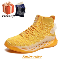Shoes Basketball-Shoes Street Mesh Fashion Non-Slip Breathable Professional Wear-Resistant