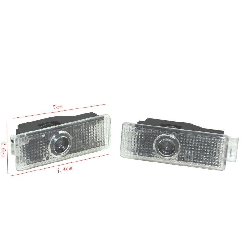 2 шт., автомобисветильник светодиодные лампы для дверей BMW 3 5 7 серии G11 G12 G30 G38 M5 E90 E92 X5 G05 X1 F48 X3 G01