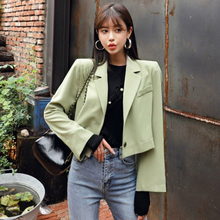 Women Winter Autumn Fashion Coats Plus Size Long Sleeved Bleiser Mujer Casual Lovely Women Suits Solid Brief Office Coat Female autumn summer new women shirt dress long sleeved female dresses slim fashion party office lady sundress plus size casual rob