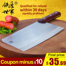 Chef professional slicing knife Stainless steel handmade forged cleaver vegetable fish meat sushi кухонные ножи