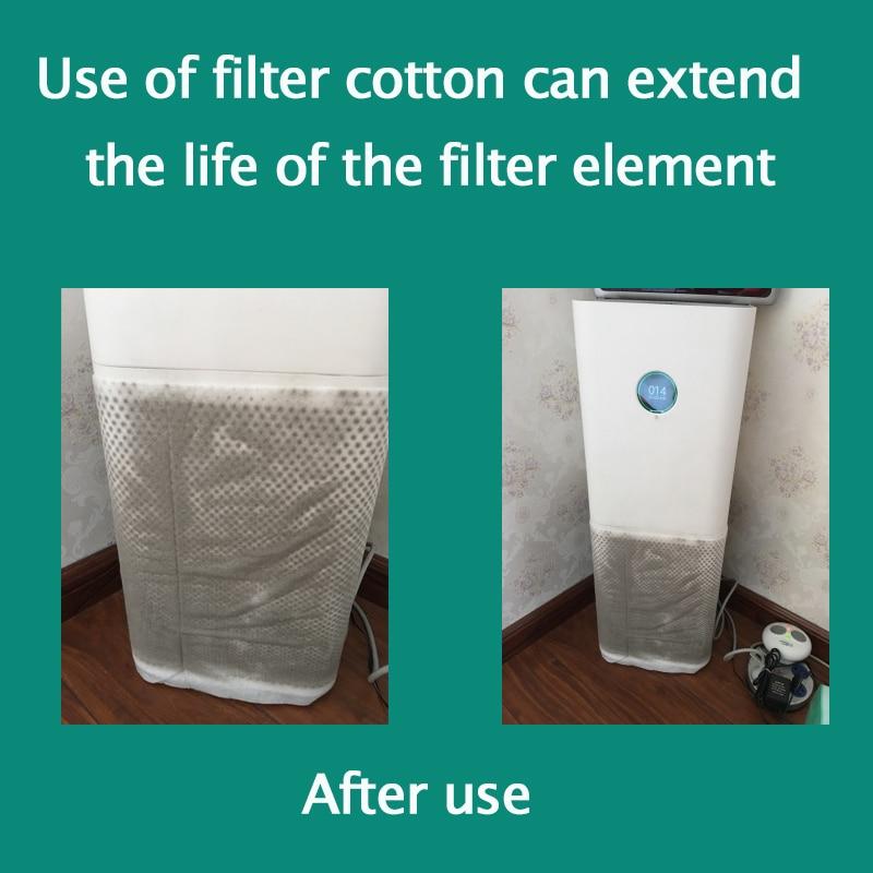 1pcs 1020x310mm Electrostatic Cotton For Xiaomi Mi Air Purifier Pro / 1 / 2 Universal Brand Air Purifier Filter Hepa Filter