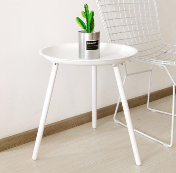 40*45cm iron art side table tripod coffee tables round tea table|Coffee Tables| |  - title=