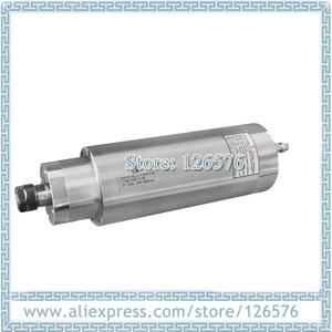 Image 1 - 低速 1200 RPM 9000 RPM 3.0Kw AC220V 掘削金属スピンドルモータ D105mm 4 ベアリング水冷スピンドルモータ