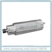أقل سرعة 1200 RPM 9000 RPM 3.0Kw AC220V الحفر المعادن المغزل المحرك D105mm 4 تحمل المياه المبردة المغزل المحرك