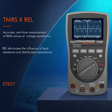 Тестер et827 2 в 1 hd экран 40 МГц 200 выборок секунду