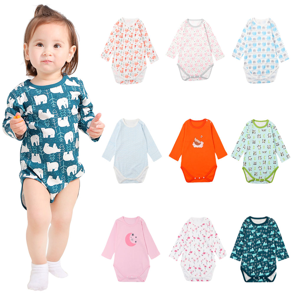 Boy Girl Solid Short Sleeve Ruffled Romper Jumpsuit Outfits Clothes squarex  Baby Romper