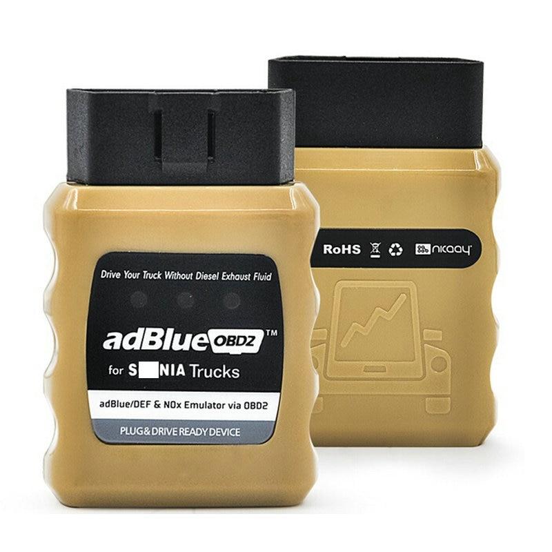 Новое поступление AdBlue OBD2 для грузовиков Adblue Эмулятор NOx Adblueobd2 - Цвет: S-CANIA