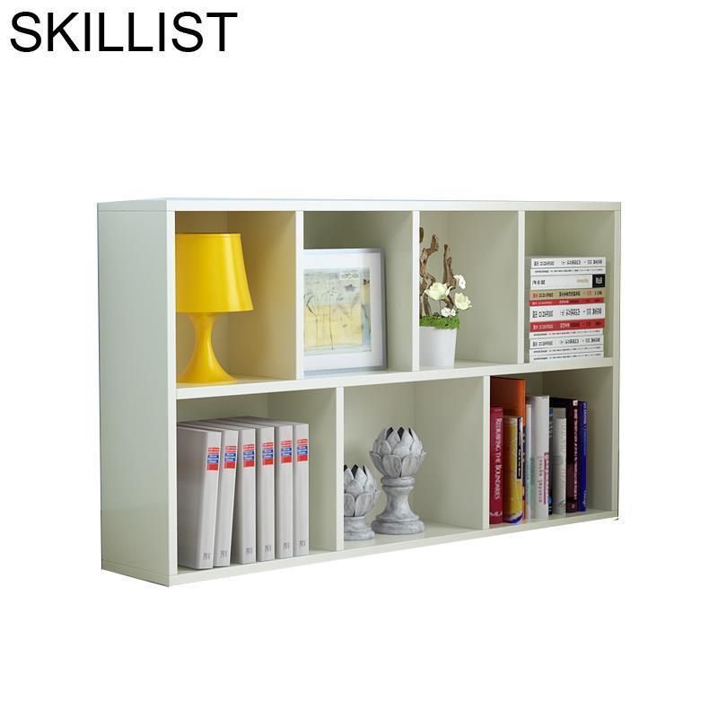 Estanteria Madera Meuble De Maison Cabinet Oficina Home Shabby Chic Wooden Furniture Retro Decoration Bookcase Book Case Rack