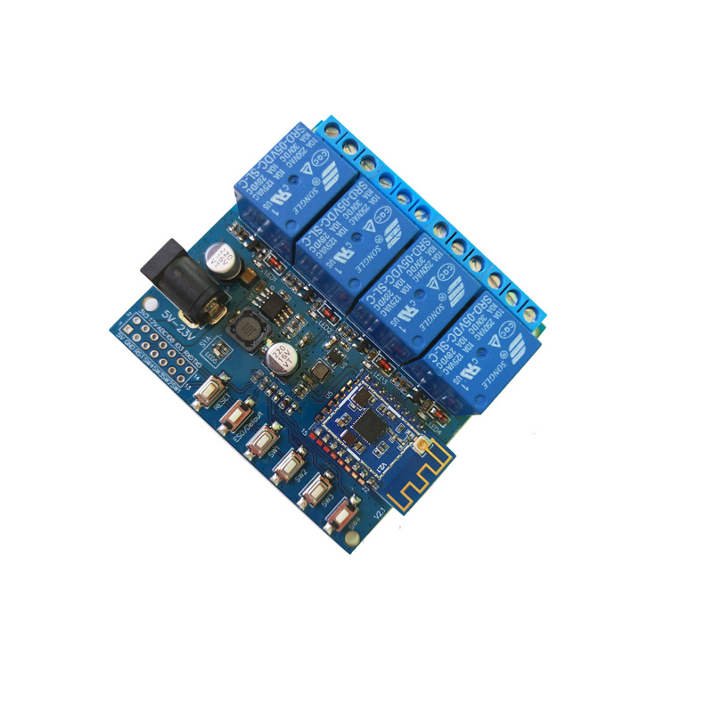 4 Channel Relay Module Smart Switch Support Android,IOS ,Google Home And Google Assistant With Antenna