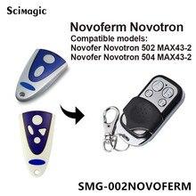 Novoferm Novotron 302/304, Novoferm MNHS433 02/04 Vervanging Afstandsbediening