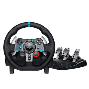 Image 1 - G29 Logitech driving force Game steering wheel PC / PS3 / PS4 racing car 900 degree driving force feedback handbrake gear lever