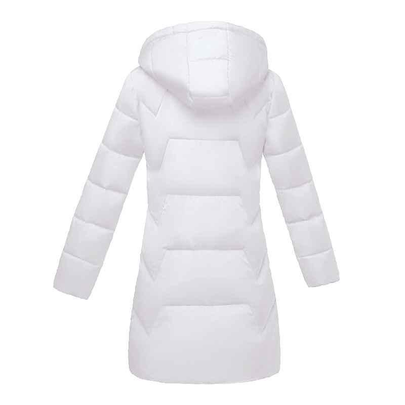 Europäischen Mode Schwarz Mantel Plus größe 7XL Winter jacke für Frauen Weibliche Jacke Winter Mit Kapuze Baumwolle Parkas Warme Jacke 2020 neue