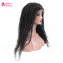Wig Frontal Natural Human-Hair Lace 360 with Hairline Brazilian Virgin-360/Lace/Frontal/Curly