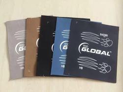 Venda quente de qualidade superior marca global boliche pano produtos frete grátis