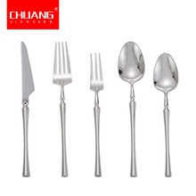 5 unids/set cuchillo Vintage de acero inoxidable tenedor cuchara manteles cuchillo de postre cuchara vajilla Mesa cuchillo de comida tenedor cuchara de té