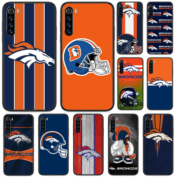 Denver Bronco American Football Phone case For Xiaomi Redmi Note 4A 4X 5 6 6A 7 7A 8 8A 4 5 5A 8T Plus Pro black Etui fashion image