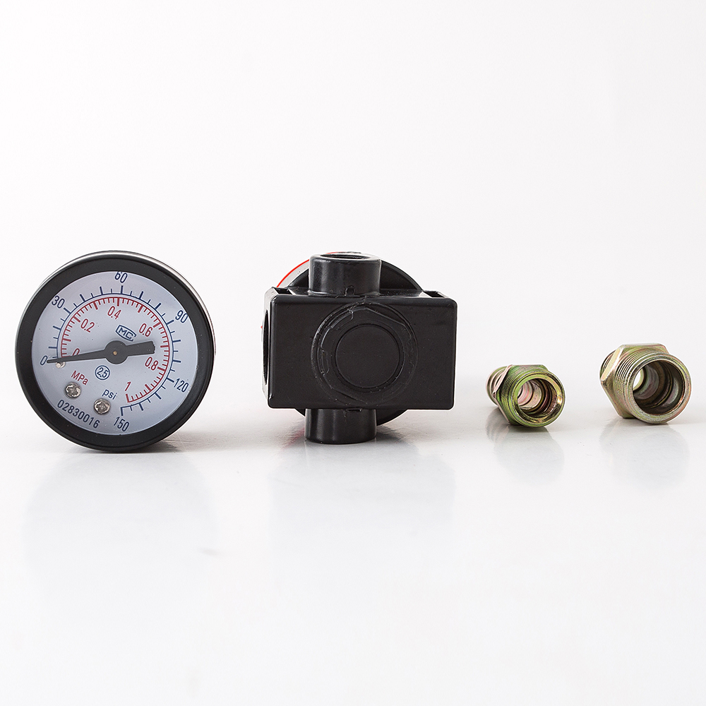 45mm Spray Gun Air Pressure Adjustment Meter Paint Spray Gun Pressure Regulator Environmental Gas Consumption Pressure Gauge 7#
