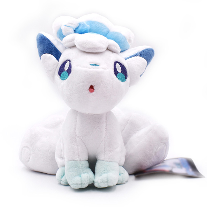 20CM 8'' Alola Vulpix Plush Toy Stuffed Dolls Plush Doll Gifts For Children Kid Gift