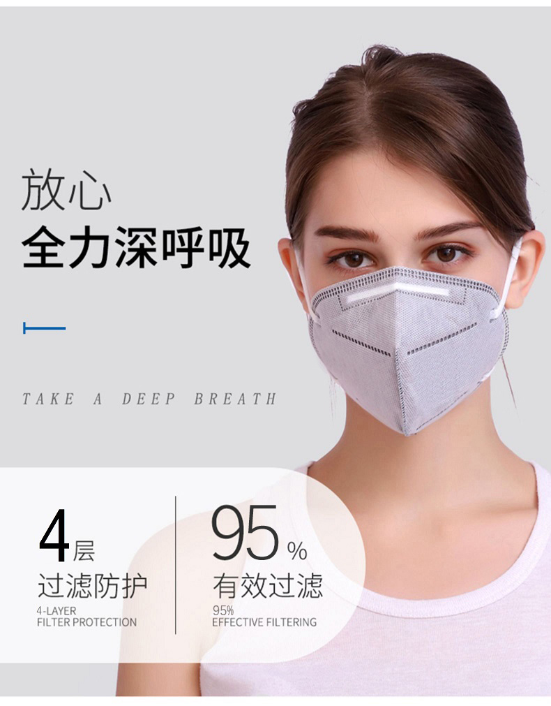 New Crown Virus KN95 Mask Disposable Dust-proof Breathable Industrial Dust Haze Men And Women Protection Kn95pm2.5 Nasal Mask