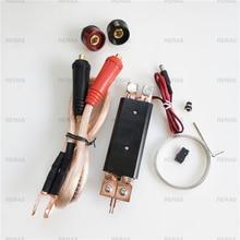 DIY จุดเชื่อมเครื่องเชื่อม 18650 แบตเตอรี่มือถือจุดเชื่อมปากกา 25 เชื่อมปากกาฟังก์ชั่นควบคุม