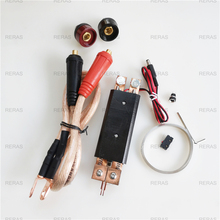 DIY maszyna do zgrzewania punktowego spawanie 18650 bateria ręczna zgrzewarka punktowa 25 kwadratowy długopis spawalniczy z funkcją regulacji