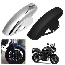New Motorcycle Front Fender Mud Flap Guard Fairing Mudguard Fairing Mud Flaps Splash Guard Wheel Cover For Suzuki GN125 GN250