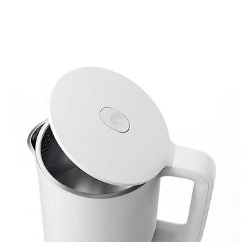 2020 Nova Xiaomi Mijia Chaleira Elétrica De água 1a 1.5l Aquecimento Instantâneo Utensílios De Cozinha Chaleira Elétrica Chaleira Automática Bule